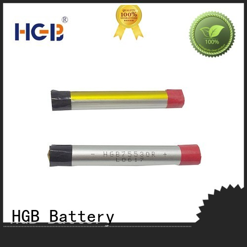 HGB long lasting electronic cigarette battery factory price for rechargeable devices