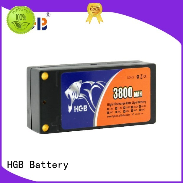 HGB rechargeable car battery rc directly sale for RC helicopter