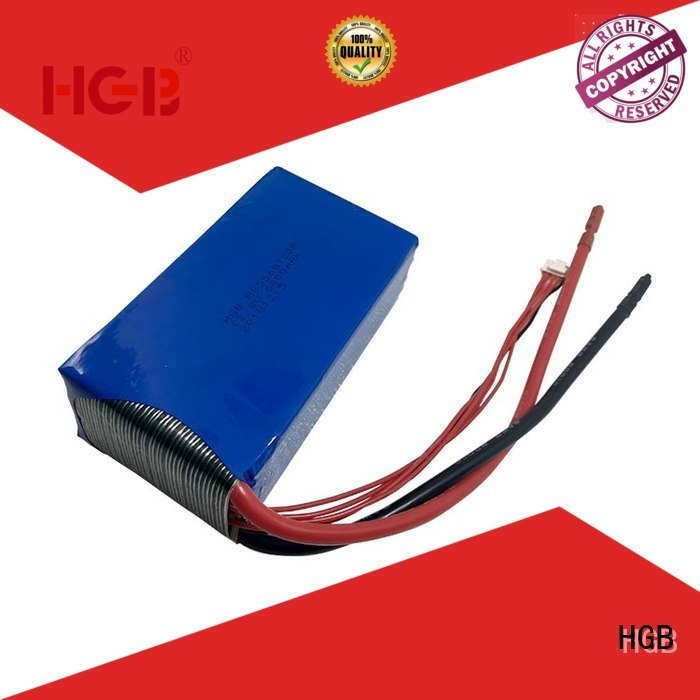 HGB light weight lithium battery discharge manufacturer for power tool