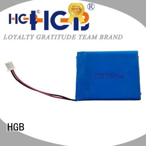 HGB flat lithium battery customized for notebook