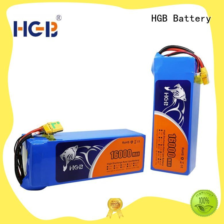 HGB charge quickly racing drone battery series for UAV
