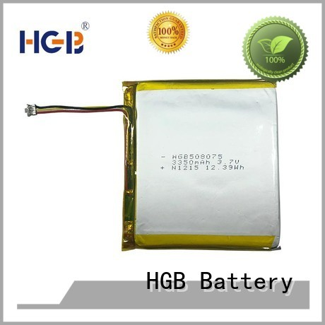 HGB flat cell lithium ion battery manufacturer for mobile devices