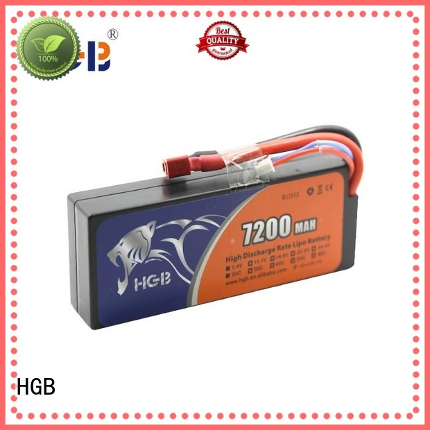 HGB high quality rc car batterys factory for RC planes