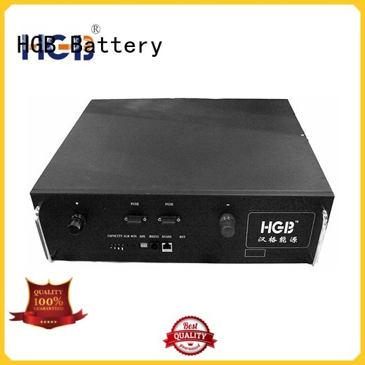 HGB fast-charging telecom battery series for communication base stations