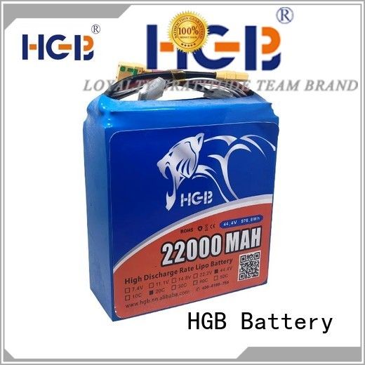 HGB drone battery supplier manufacturer