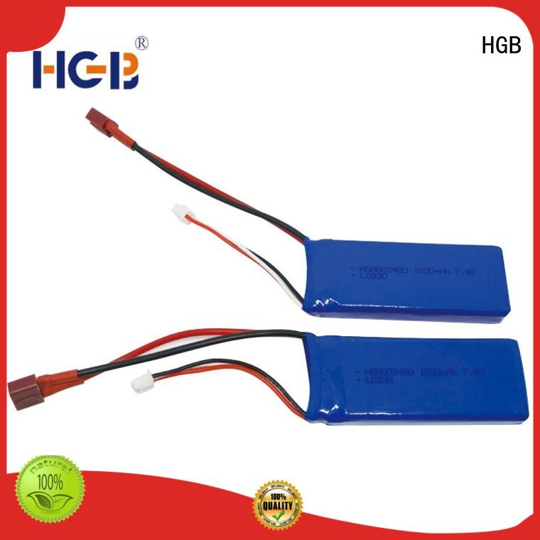 HGB popular polymer battery factory for RC helicopter