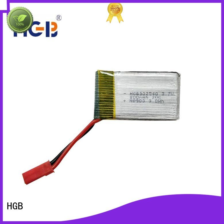 HGB rechargeable rc car battery wholesale for RC planes