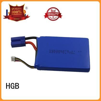 HGB lithium car starter battery customized for jump starter