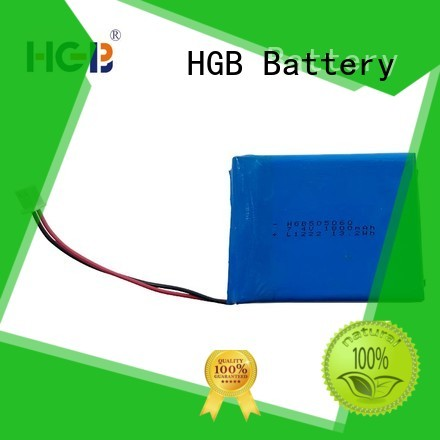 HGB thin rechargeable battery customized for notebook