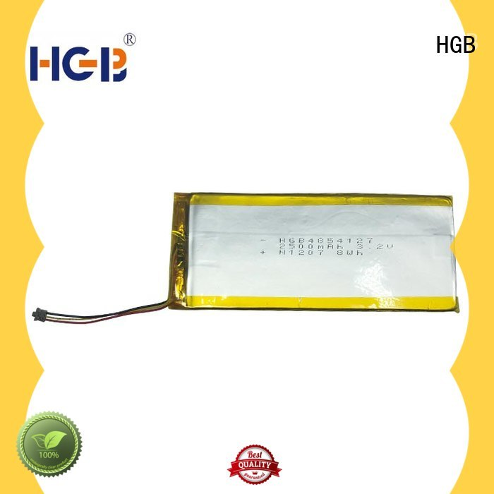 HGB popular flat lithium battery supplier for digital products