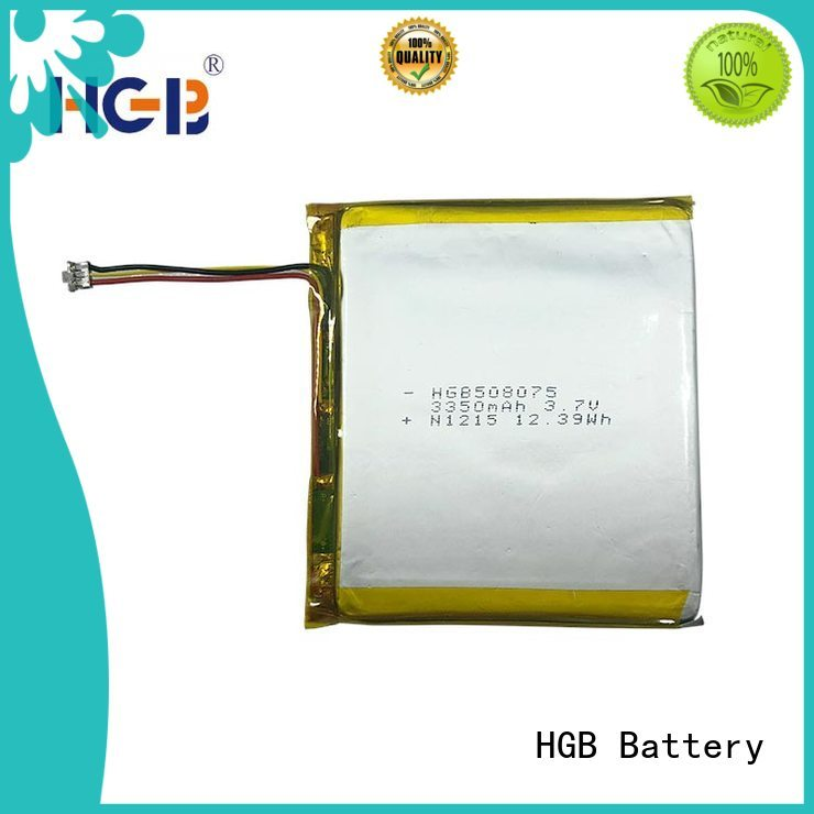 flat lithium polymer battery directly sale for notebook HGB