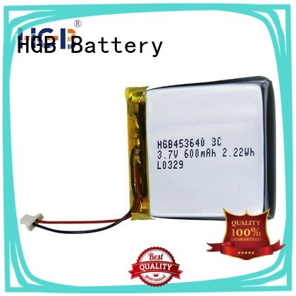 HGB flat lithium polymer battery manufacturer for notebook