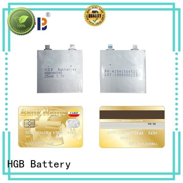 HGB ultra thin battery wholesale for wearable devices