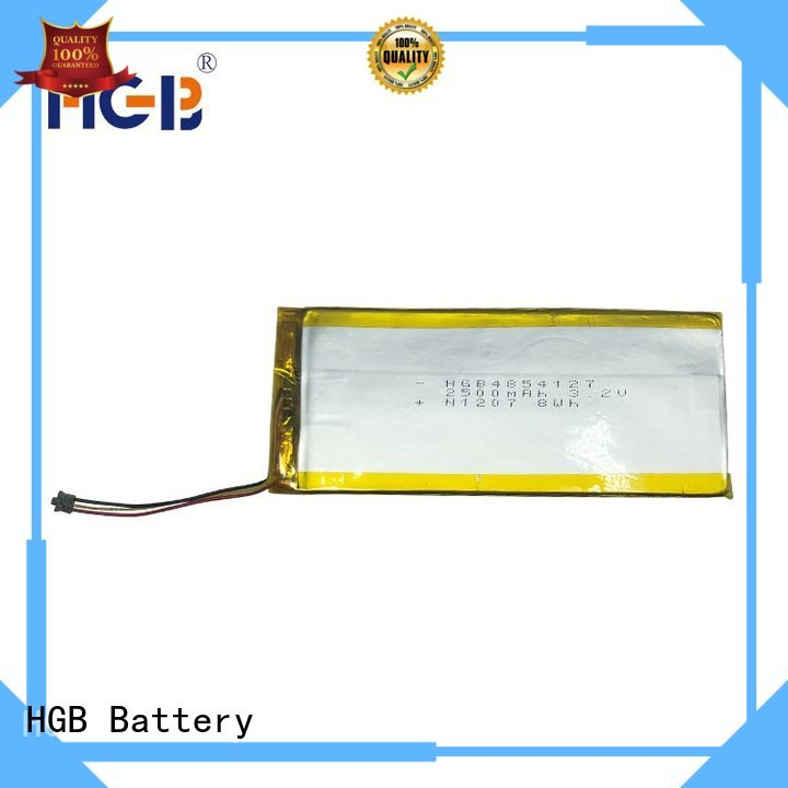 HGB thin rechargeable battery manufacturer for digital products