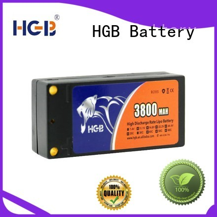 HGB rc plane battery manufacturer for RC quadcopters