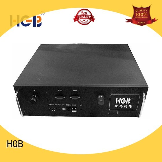 HGB lithium ion battery for telecom application series for Cloud/Solar Power Storage System