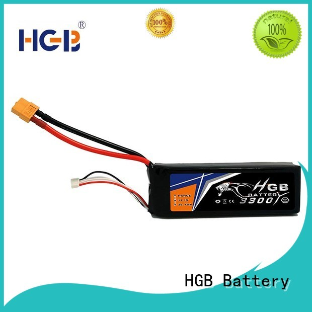 HGB rc rechargeable batteries factory price for RC helicopter