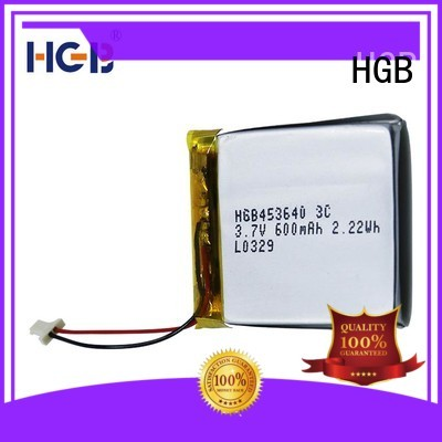 HGB flat lithium battery directly sale for notebook