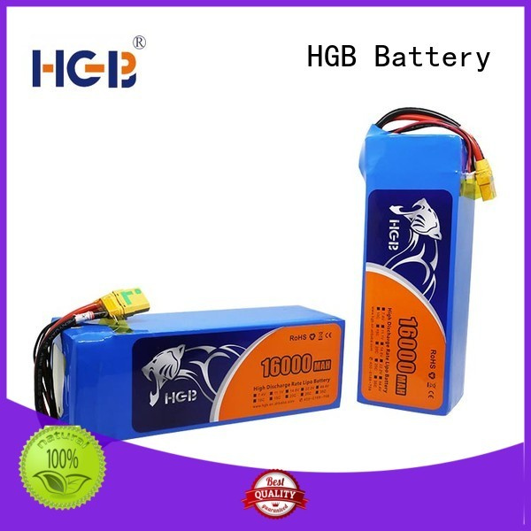 HGB long charge racing drone battery manufacturer for Aircraft