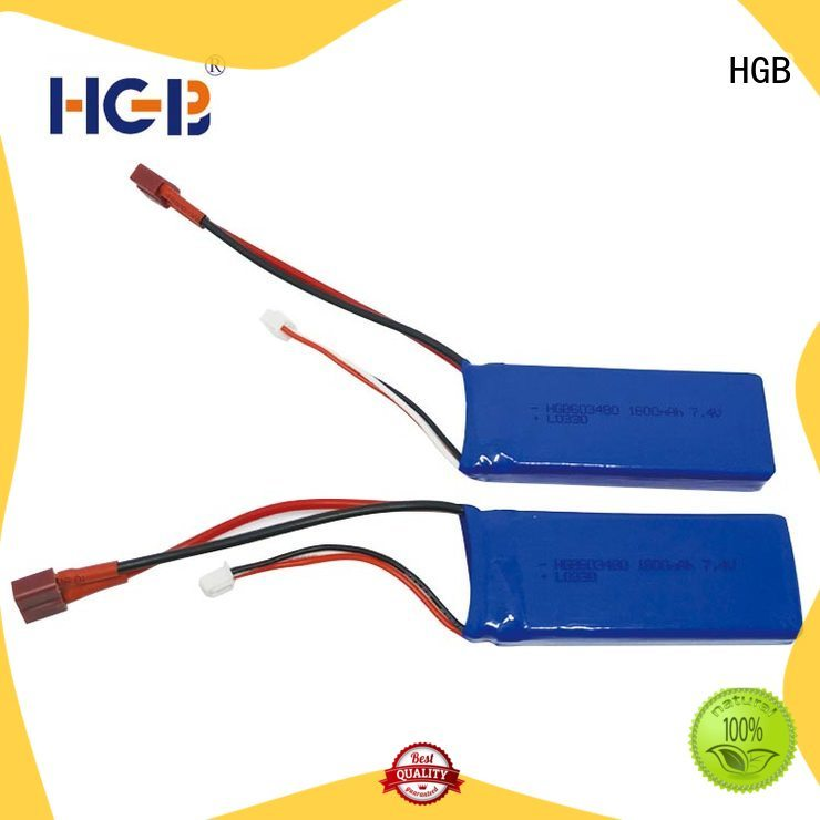 HGB lithium ion battery for rc planes directly sale for RC quadcopters