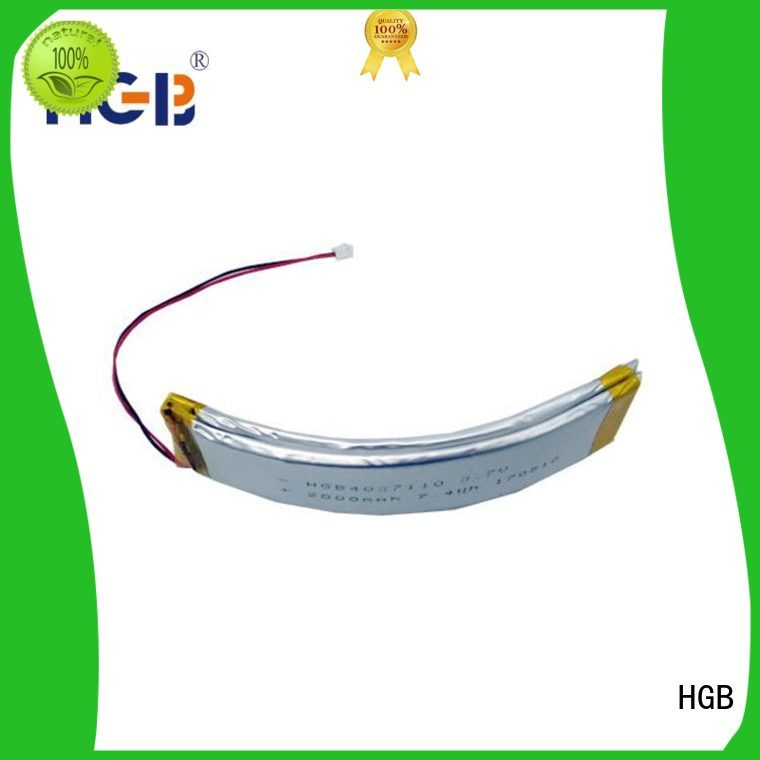flexible lithium ion battery supplier for multi-function integrated watch HGB