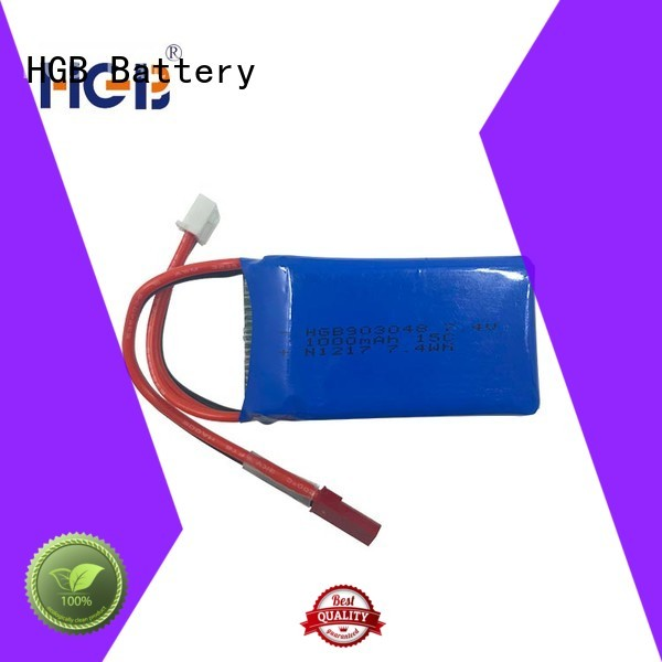 popular rc batterier factory price for RC quadcopters