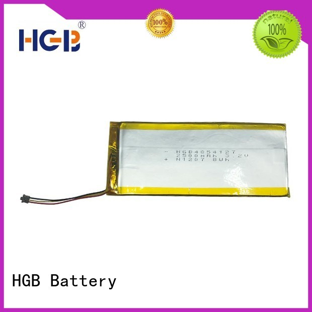 HGB light weight rechargeable lithium polymer battery customized for digital products