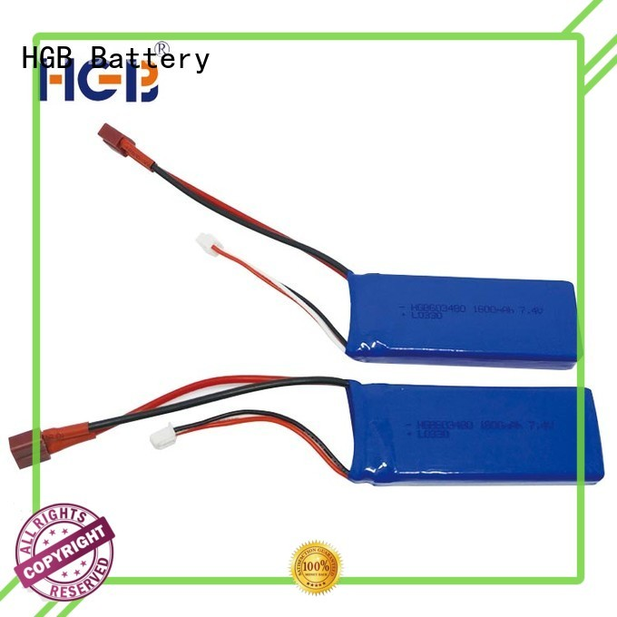 HGB popular rc car batterys supplier for RC car