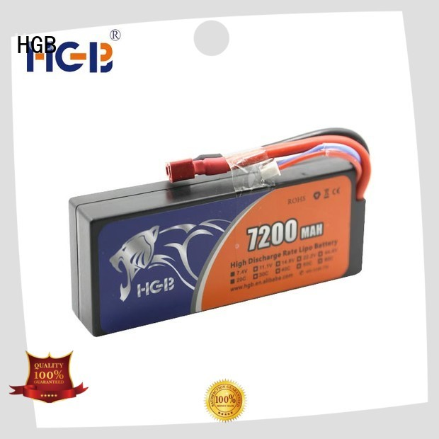 HGB reliable rc helicopter rechargeable batteries manufacturer for RC car