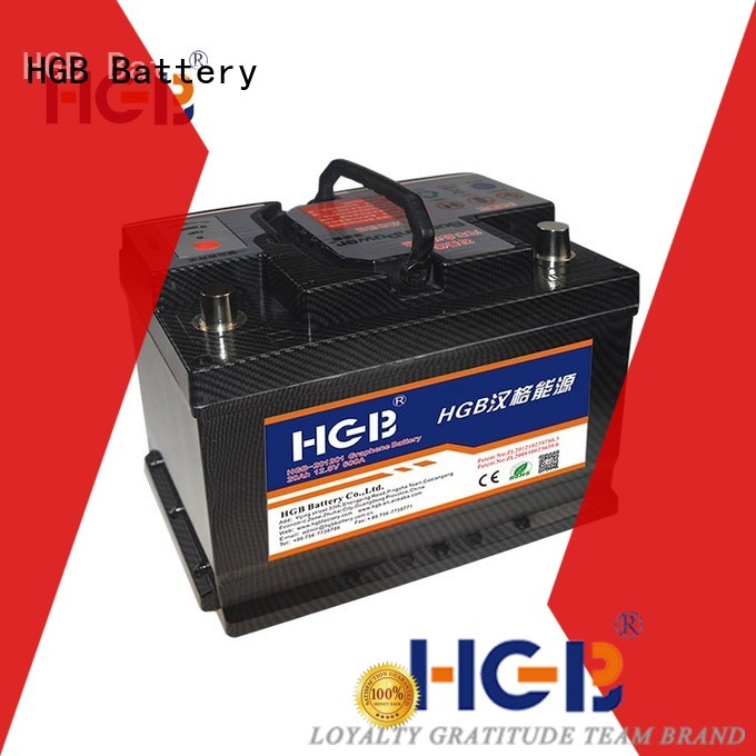 HGB charge quickly turnigy graphene batteries for cars