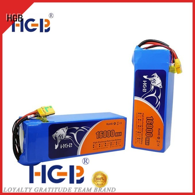 HGB best battery for drone racing series for UAV