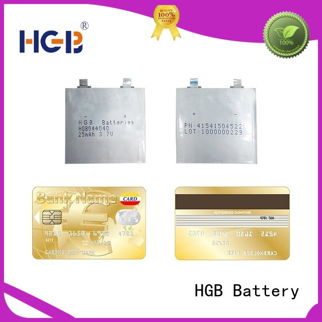 ultra thin battery series for micro speakers HGB