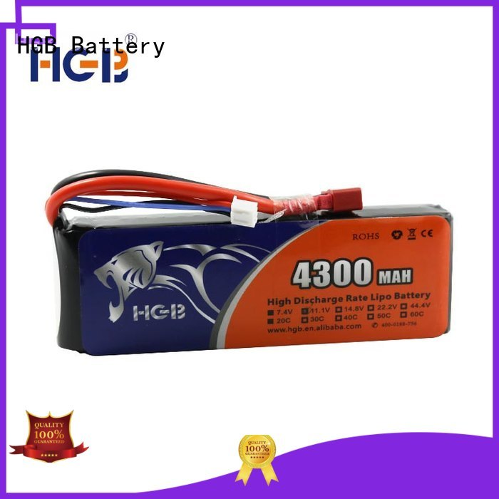 HGB high quality rc car battery factory for RC planes