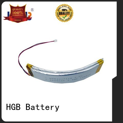 HGB button shape flexible lithium ion battery manufacturer for smart bracelet