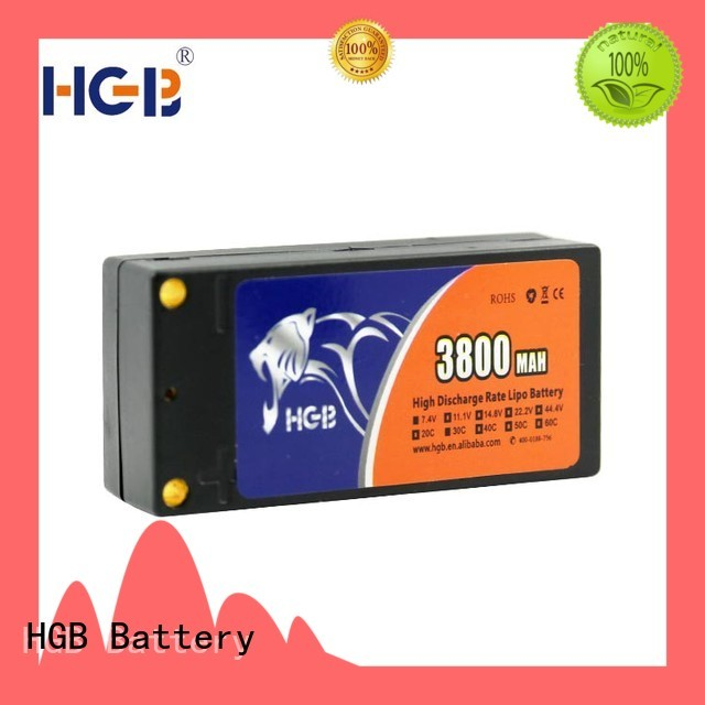 HGB rc lithium ion battery manufacturer for RC quadcopters