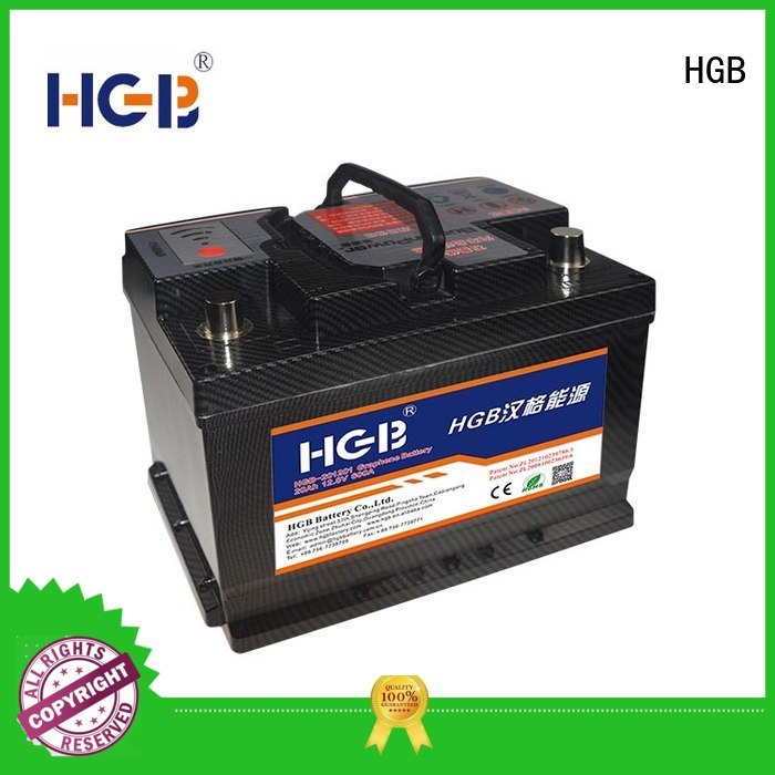 HGB graphene lithium ion battery supplier for tractors