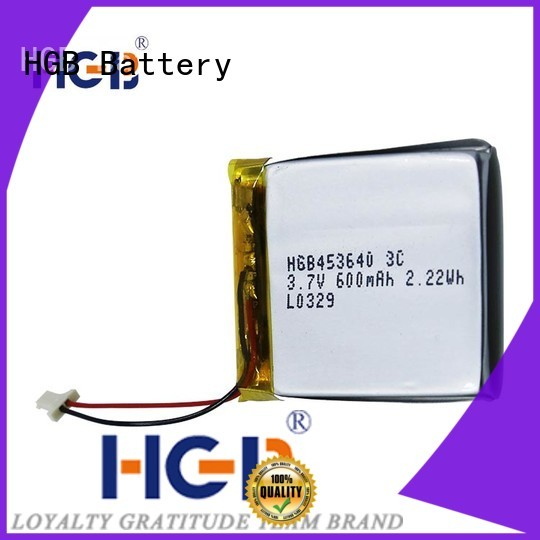HGB quality flat lithium polymer battery manufacturer for mobile devices