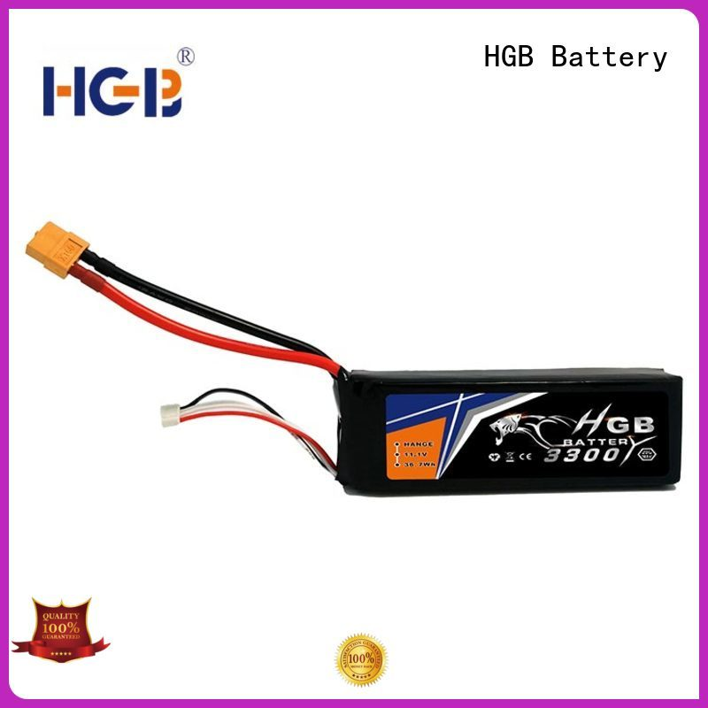 HGB polymer battery directly sale for RC planes