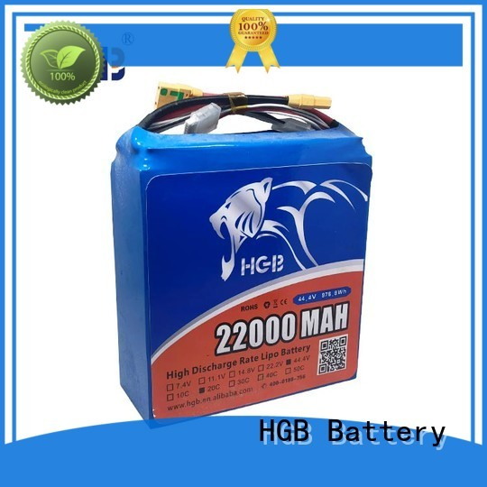 HGB durable drone battery pack series for UAV