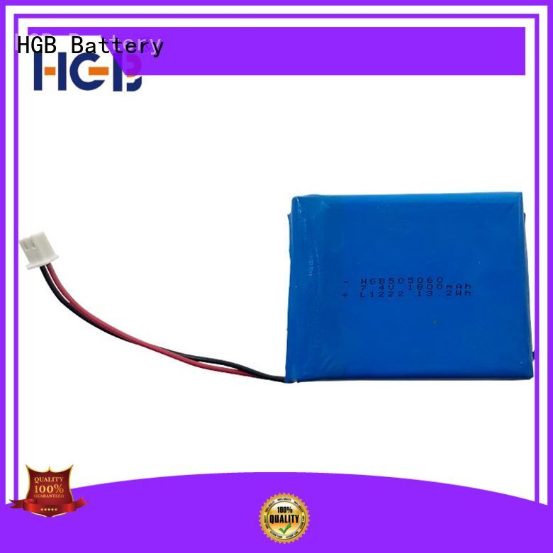 HGB high voltage flat lithium battery supplier for digital products