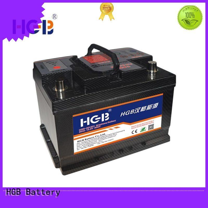 HGB graphene battery pack design for vehicle starter