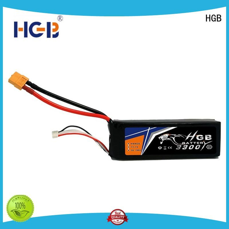 HGB high quality rc car battery directly sale for RC planes