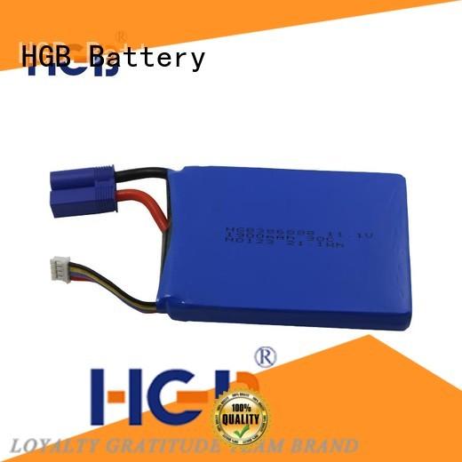 HGB advanced jump starter battery for race use