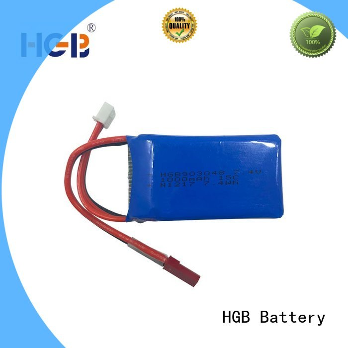 HGB rc plane battery factory price for RC helicopter