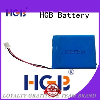 HGB popular flat lithium polymer battery directly sale for computers
