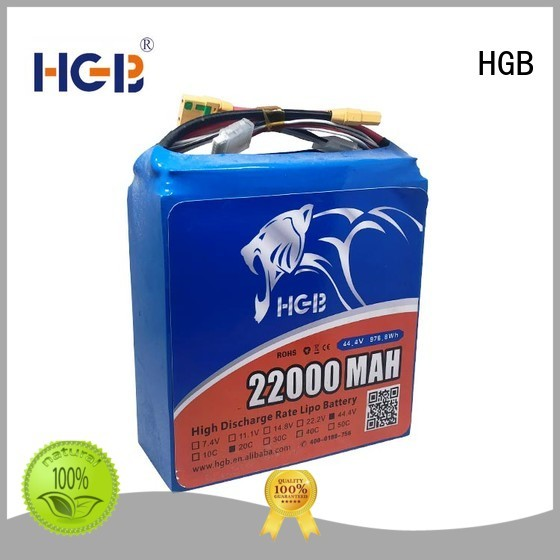 HGB rechargeable drone battery customized for UAV