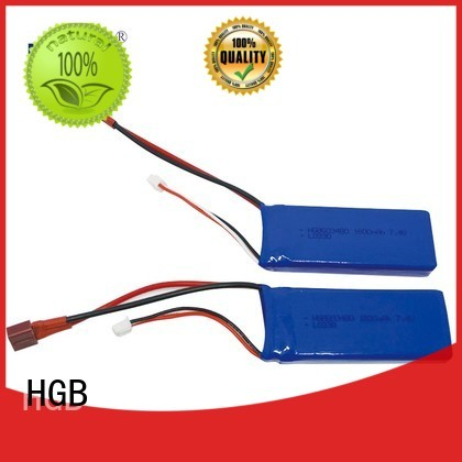 HGB advanced polymer battery supplier for RC planes