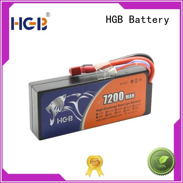 HGB rc helicopter rechargeable batteries directly sale for RC quadcopters
