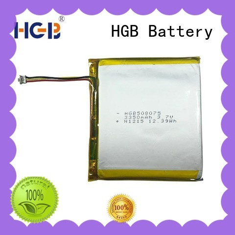 HGB light weight flat lithium battery supplier for digital products