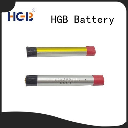 HGB high quality electronic cigarette battery custom design for rechargeable devices